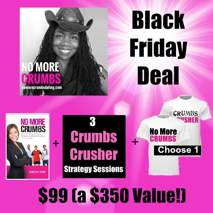 [Black Friday Sale] No More Crumbs Book + Relationship Coaching
